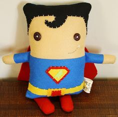 Very cute superboy - Mie's Art & Crafts