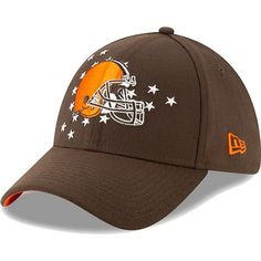485e391d Cleveland Browns New Era 2019 NFL Draft On-Stage Official 39THIRTY Flex Hat  – Brown