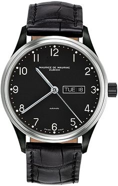Automatic Classic Watch from Maurice de Mauriac, Swiss Watchmakers. watches for men, swiss watches