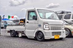 Suzuki Carry Truck   Lowered, Slammed, JDM