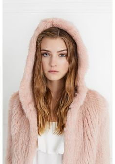 The Rose Hooded Fur