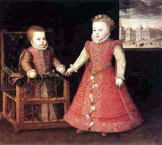 Coello, 1568 - Isabella and Catalina