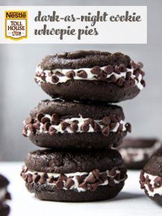 Dark-as-Night Cookie Whoopie Pies