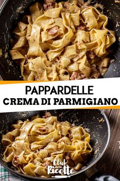 Parmesan, Pot Pasta, Pasta Dishes, Pasta Recipes, Cooking Recipes, Healthy Recipes, Salsa Italiana, Polenta, Italian Recipes