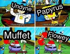 when you turn spongebob into an undertale meme.  why does this exist.... why