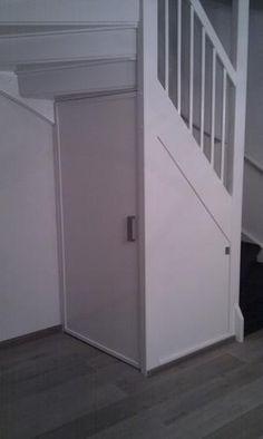Voorbeeld trapkast