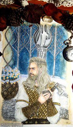 Baldr the god of light. Illustration by milbeth morillo Norse Pagan, Pagan Art, Norse Mythology, Loki, Danish Vikings, Scandinavian Baby, American Gods, Viking Warrior, Green Man