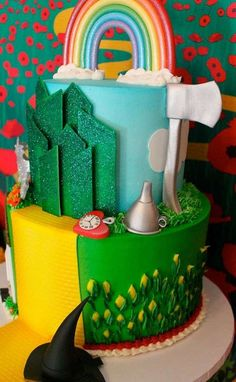 Wizard of Oz Baby Shower | CatchMyParty.com