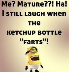 Minion quotes are hilarious. These are the 21 best funny minions quotes of the day that will make you laugh. Funny Minion Pictures, Funny Minion Memes, Minions Quotes, Funny Jokes, Minion Sayings, Minion Humor, Funny Sayings, Funny Bio Quotes, Funny Images