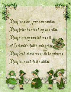Nanalulu's Musings: Some Cute Saint Patricks's Day Graphics Irish Prayer, Irish Blessing, St Patricks Day Quotes, Happy St Patricks Day, Saint Patricks, Irish Quotes, Irish Sayings, Irish Proverbs, Erin Go Bragh