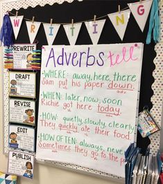 It's adverb time! I feel like this is the hardest part of speech to teach. If you have any engaging adverb lesson ideas, please send them my way! 💌