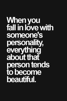 Fall in love with someone's personality-demisexuality