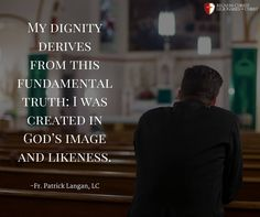 Fr. Patrick Langan, LC Legionaries Of Christ, Christ Quotes, The Kingdom Of God, My Prayer, Prayers, Father, Cards Against Humanity, Wisdom, Teaching