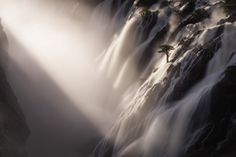 """Hougaard Malan of South Africa won the single image """"International Landscape Photograph of the Year"""" award with this shot of Ruacana Falls in Northern Namibia."""