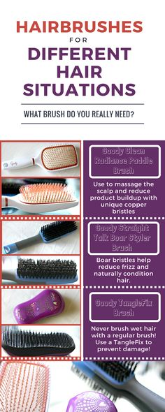 Hairbrushes You Need To Be Using Hair Brush Hair Conditioner