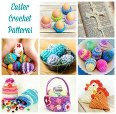 There's still time to make some fun Easter projects! Think egg cozy place settings for your Easter table, lace crosses for your church group, or Easter egg treat bags to fill with goodies for the kiddos! Click here to see all my free Easter Crochet Patterns.