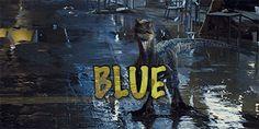 Nervous Blue Jurassic World