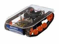 Brutusbot: plataforma robótica móvil con excelente tracción independiente de cada lado. Ideal para tus proyectos de mecatrónica y robótica