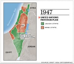 Following WWII, people felt bad for the Jewish people. In 1947, the United Nations created this plan to make separate states for the Jewish and the Arab inhabitants of Palestine. Immediately following this, a war broke out in which Israel won. To this day there is still a lot of tension in the Middle East because of the creation of the Jewish state of Israel.