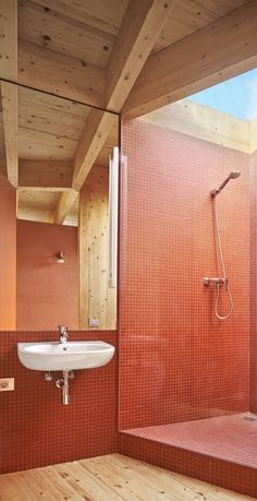 A Sun-Catcher in the Pine Forest: House in la Floresta by Arquitectura-G - DETAIL - Magazine of Architecture + Construction Details Bad Inspiration, Bathroom Inspiration, Piscina Interior, Interior Architecture, Interior Design, Interior Modern, House Built, Cheap Home Decor, Home Decor Accessories