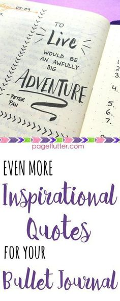 Inspirational Quotes for your Bullet Journal. Stay focused on your goals by keeping a positive attitude.