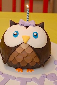 Owl cake or winter cupcakes? Pretty Cakes, Cute Cakes, Beautiful Cakes, Amazing Cakes, Beautiful Owl, Owl Cake Birthday, Happy Birthday, 22nd Birthday, Daughter Birthday
