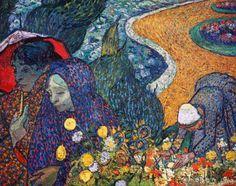 Vincent+van+Gogh+-+Die+Frauen+von+Arles+-+Erinnerung+an+den+Garten+in+Etten