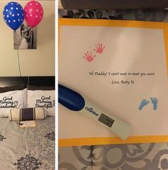 Cute pregnancy announcement to my husband! Cute pregnancy announcement to my husband! Pregnancy After 40, Surprise Pregnancy, Pregnancy Photos, Pregnancy Info, Pregnancy Classes, Pregnancy Questions, Ectopic Pregnancy, Pregnancy Belly, Funny Pregnancy