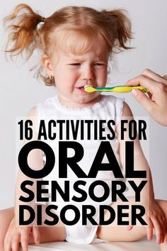 If your child has autism and/or sensory processing disorder, we've got 16 simple to set-up oral motor activities for kids to help with a variety of challenges like picky eating and inappropriate chewing, sucking & biting. Freetime Activities, Oral Motor Activities, Occupational Therapy Activities, Sensory Therapy, Sensory Activities Toddlers, Autism Activities, Feeding Therapy Activities, Play Therapy, Sensory Integration Therapy