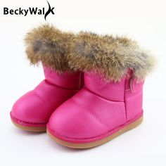 Enfants Princesse Fille Paillettes Hiver Chaud MARTIN Boots Kid bébé hiver chaussures L