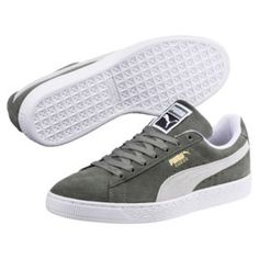380d646cdebda Thumbnail 2 of Suede Classic Sneakers in Castor Gray-Puma White Hvide  Sneakers