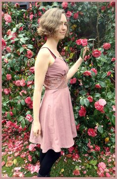 SALE- Chasing The Sun Dress in dusky rose Hand dyed and Hand made (cotton,bridesmaid,wedding,floral,pink,ethnic,handmade,festival,pixie). $70.00, via Etsy.