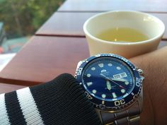 [Orient] Having a tea at a strange highland city with a diver via /r/Watches