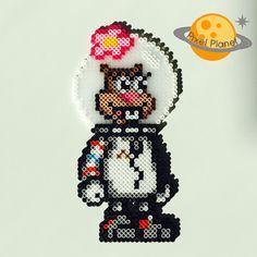 SpongeBob Squarepants Perler Beads Sprites Collection | Sandy Cheeks | by PixelPlanetShop