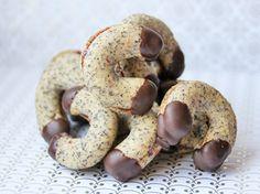 Die Waldviertler Mohnkipferl schmecken leicht und flaumig. Eine leckere Süßspeise zum Kaffee am Nachmittag.