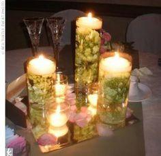 wedding aisle decorations hydrangeas and votive candles | Posts Totales : 104 Puntos Premio : 0 Inscrito: 3/3/2008