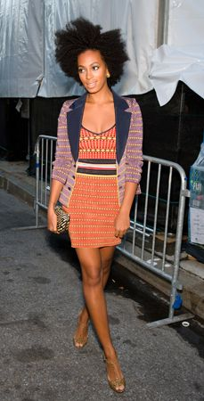 Tall Freckled Fashionista: Style: Solange Knowles