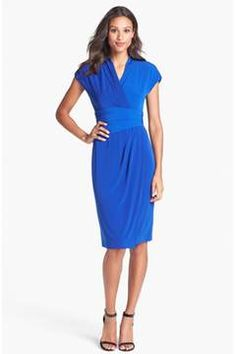 Alternate Image 3  - Ivy & Blu Ruched Faux Wrap Dress