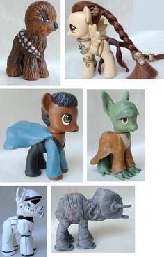 My Little Star Wars Ponies