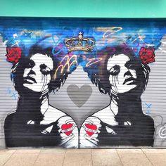 Artist @copyrightart #upfest2013 #street art bristol graffiti
