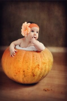 Pumpkin baby by Alena Vlasko on 500px
