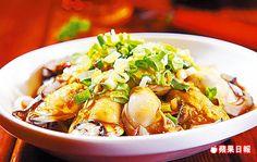 哇沙米鮮蚵300元 以泰式魚露、日式柚子醬、醬油、檸檬等調成醬汁,辛辣開胃。