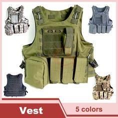 Tactical Vest Molle Combat Strike Plate Carrier Vest Steel Wire Vest Outdoor Military Equipment 1000D   HT13-0001