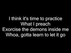 Kesha - Learn To Let Go (lyrics) - YouTube
