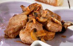 Τηγανιά με ψαρονέφρι και μανιτάρια - Συνταγές - Εύκολα & γρήγορα   γαστρονόμος Greek Recipes, Sweet Potato, Main Dishes, Pork, Potatoes, Meat, Chicken, Dinner, Vegetables