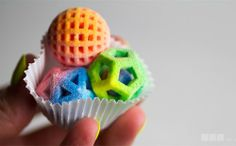3D-Printed Candies Are a Geek's Dream Dessert