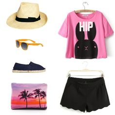 Appropiate outfit to Japan in summer. http://www.whatoweather.com/una-maleta-para-japon/