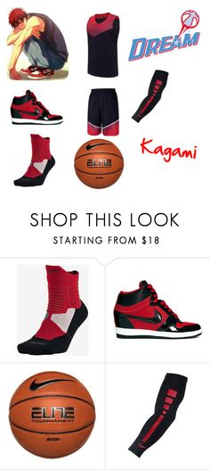 """""""Kagami's Street Basketball"""" by scorpio-queen ❤ liked on Polyvore featuring NIKE"""