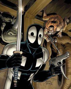 Upcoming Deadpool: Back In Black cover An homage to Spider-Man Kravens Last Hunt  #marvelcomics #Comics #marvel #comicbooks #avengers #captainamericacivilwar #xmen #xmenapocalypse  #captainamerica #ironman #thor #hulk #hawkeye #blackwidow #spiderman #vision #scarletwitch #civilwar #spiderman #infinitygauntlet #blackpanther #guardiansofthegalaxy #deadpool #wolverine #daredevil #drstrange #infinitywar #thanos #magneto #cyclops http://ift.tt/2bT3L6B