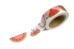 Watermelon washi tape...wish I had this for my watermelon planner page! :(